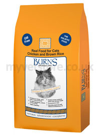 Burns Adult Cat Chicken & Rice